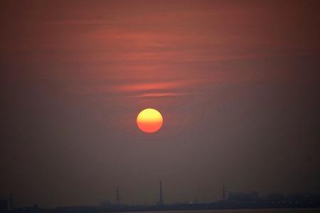 Sunset at Hadsangchan,Rayong