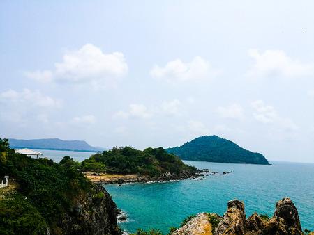 Nang Phaya Hill Scenic Point Stock Photo