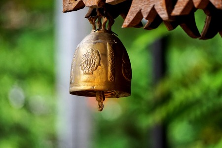 sanskrit: Ghanta is the Sanskrit term for a ritual bell used in Buddhist religious practices.