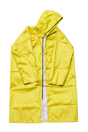 jupe: raincoat isolated on white background Stock Photo