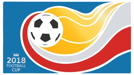 Soccer card design.