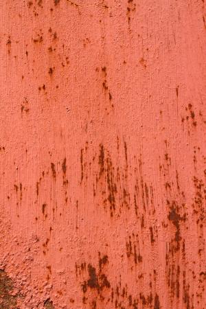 rustiness: rusty red iron plate Stock Photo