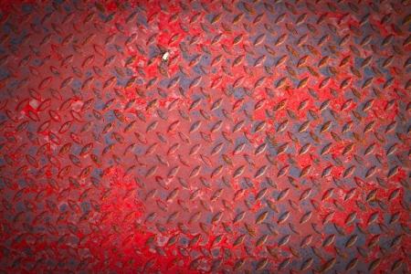 diamond plate: Old metal diamond texture background Stock Photo