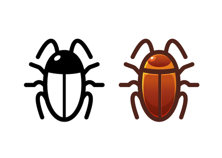 Insect icon Illustration
