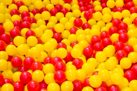 Heap of Colorful Balls Abstract Background.  photo