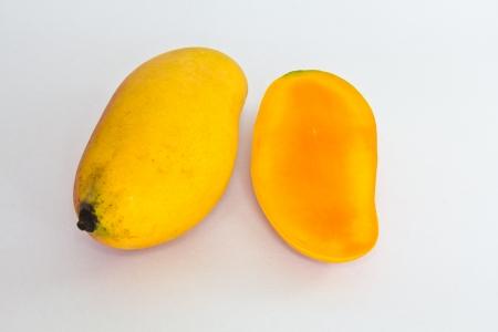 Ripe appetizing mango