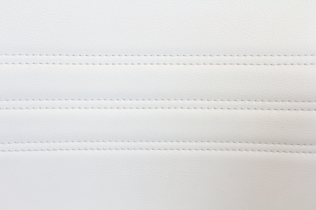 natural white sewing leather