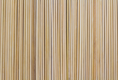 row of stick bamboo
