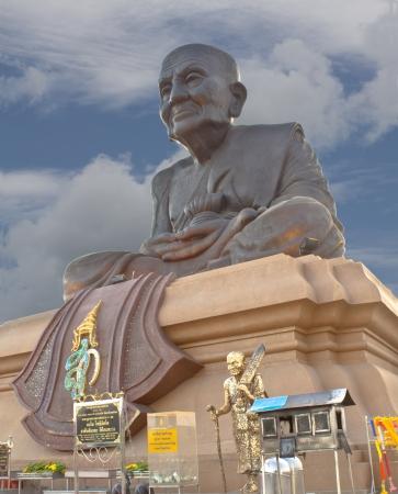 A big Buddha, Luang Phor Tuad Buddha in Wat Huai Mongkhon temple Hua Hin , Thailand  Archivio Fotografico