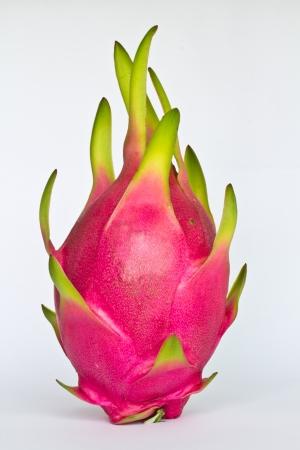 Dragon fruit isolated on white background  photo