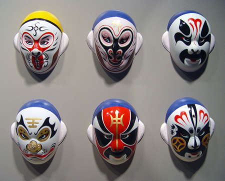 Peking Opera Mask Stock Photo - 432373