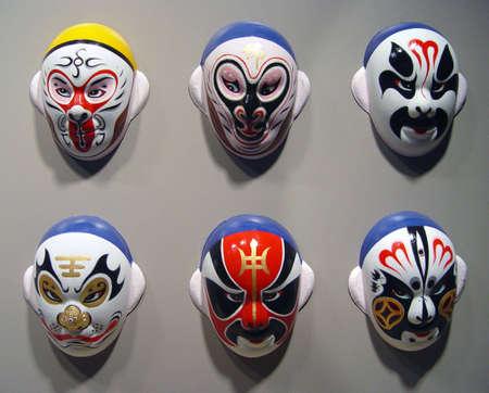 peking: Peking Opera Mask Stock Photo