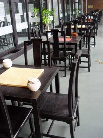 tea house:  A modern looking Tea house