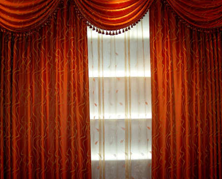 Luxury curtain Stock Photo - 652677