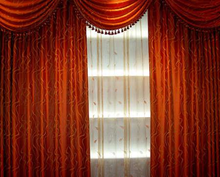 Luxury curtain photo