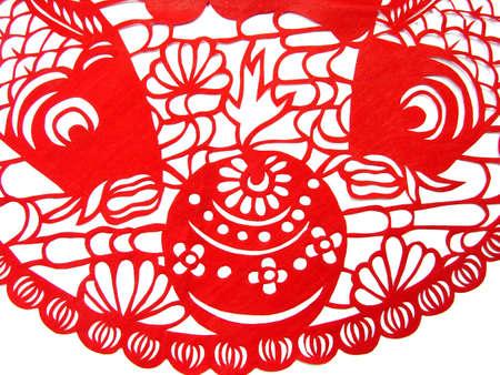kirigami: Traditional paper cut   fish