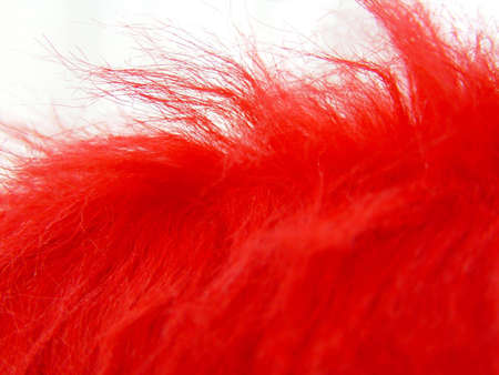 flamy: red fuzz detail as a flamy abstract background                                Stock Photo