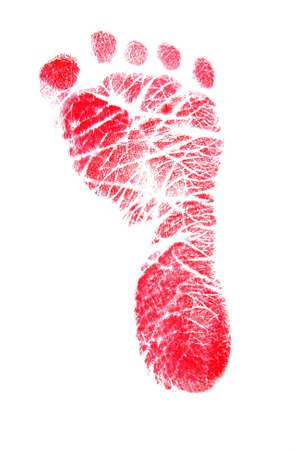 Red Footprint Stock Photo - 852380