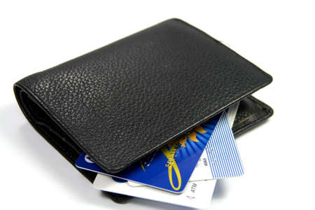 WALLET WITH CREDIT CARDS Stock Photo - 938523
