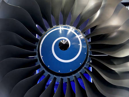 turbofan: engine blades