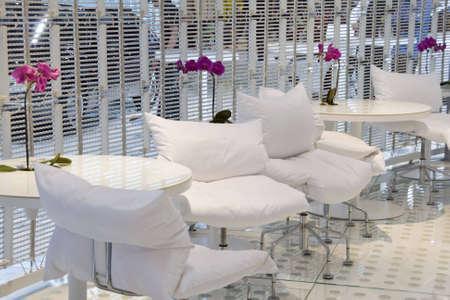 Luxury modern living room with nice sofa Stock Photo - 2946878