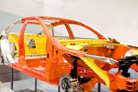 body paint: Un coche shell y listo, en la sala
