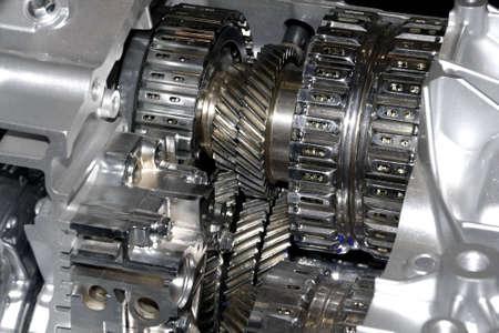 Gearbox cut-through view  photo