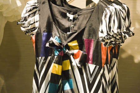 clothes on display in shop in china Stock Photo - 4762415