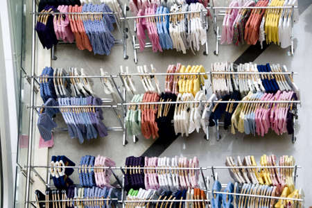 clothes on display in shop in china Stock Photo - 4762421