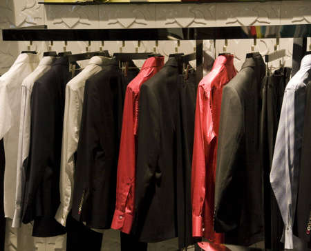 clothes on display in shop in china Stock Photo - 4762414