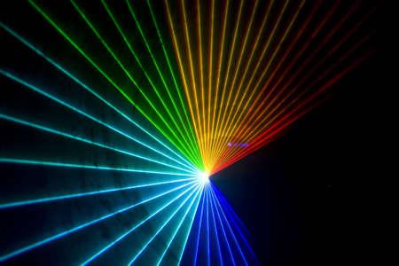 Kleurrijke Disco met speciale effecten en fantastische laser show