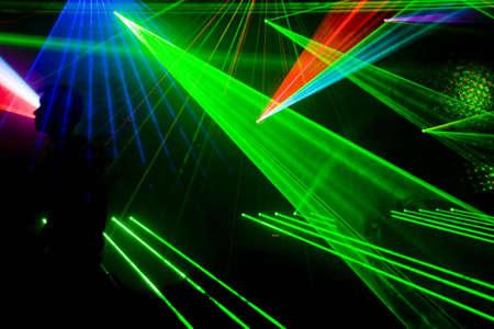 efectos especiales: Disco de colores con efectos especiales y fant�stico show l�ser
