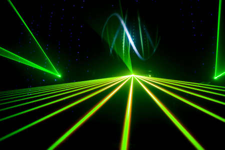 special effects: Colourful Disco with special effects and fantastic laser show