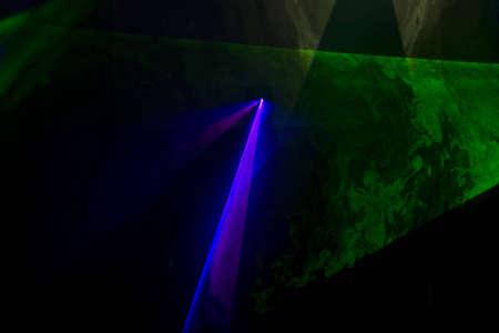 efectos especiales: Mostrar de disco colorido con efectos especiales y fant�stico l�ser