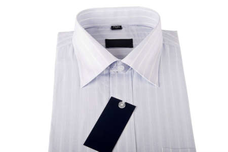 Striped shirts isolated on the white background Stock Photo - 5074036