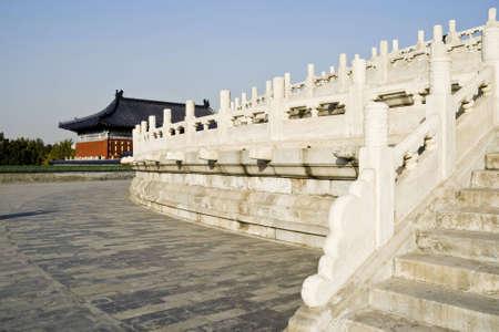 balustrade: marble balustrade at the beijing china