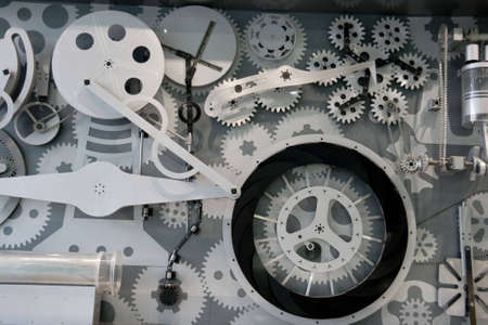 cir: The working principle of various mechanical  Stock Photo