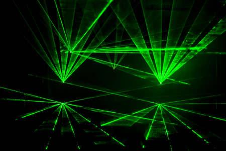 Kleurrijke Disco met speciale effecten en fantastische laser weergeven