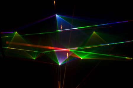 Kleurrijke Disco met speciale effecten en fantastische lasershow
