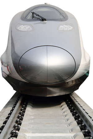 Modern high speed bullet train in China Stock Photo - 9103475
