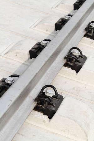 High Speed Trains rail track Stock Photo - 9103480