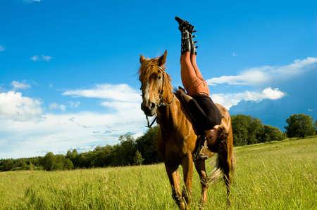 strapless: horse