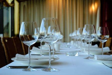 venue: banquet Stock Photo