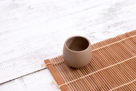 earthenware: Earthenware for tea for Chinese traditional ceremony