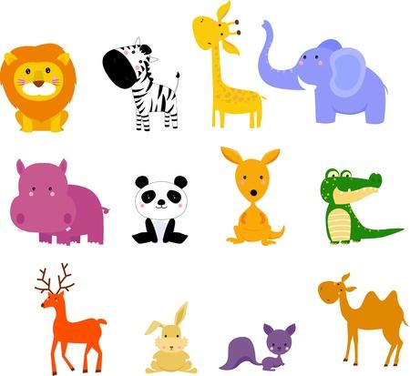 jirafa caricatura: animal