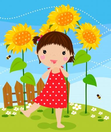 pretty little girl: cute girl