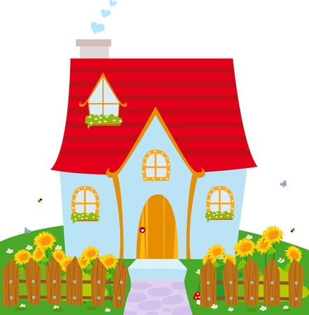 house clip art: little house