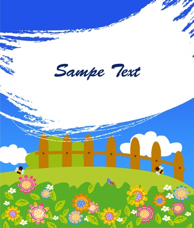 cartoon frame: cartone animato cornice