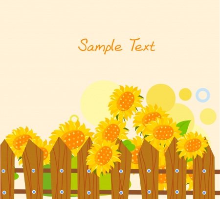 bee garden: sunflower