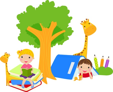 happy kids Stock Vector - 14999093